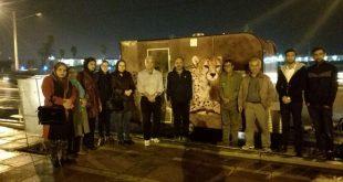 سفر حامی پروژه بینالمللی حفاظت از یوزپلنگ آسیایی در بوشهر